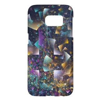 Coque Samsung Galaxy S7 Multicolore brillant