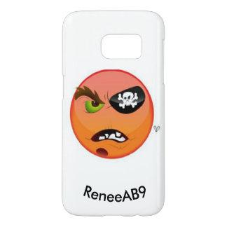 Coque Samsung Galaxy S7 Pirate d'Emoji par ReneeAB9
