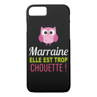 Coque Smartphone Marraine it is too Chouette! Case-Mate iPhone Case
