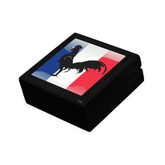 Coquelet drapeau gift box