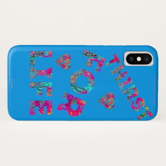 COQUES/ETUIS ALL TELEPHONES THIRST FOR LIFE M iPhone X CASE