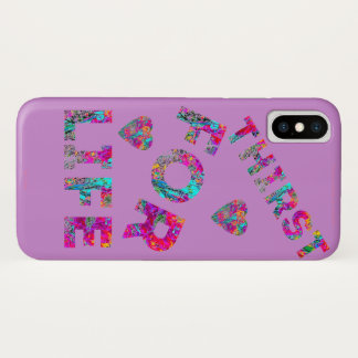 COQUES/ETUIS ALL TELEPHONES THIRST FOR LIFE P iPhone X CASE