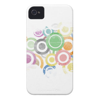 Coques iPhone 4 Case-Mate full of circles. Colorful and cool gift