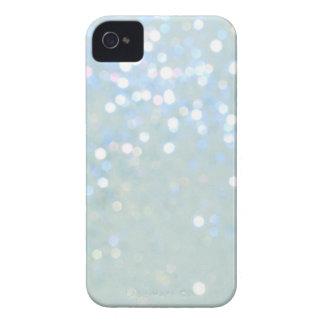 Coques iPhone 4 Couverture de bleu layette/blanche de parties