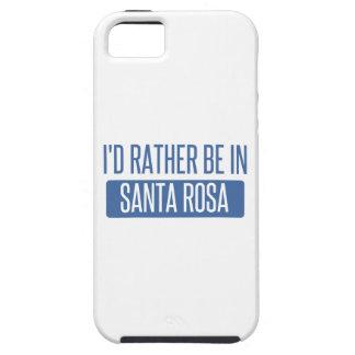 Coques iPhone 5 Case-Mate Je serais plutôt à Santa Rosa