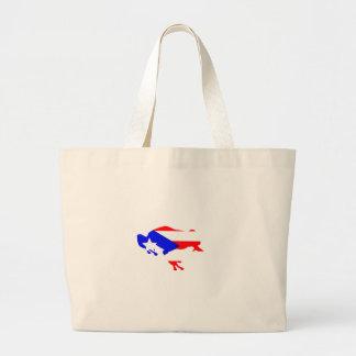 coqui flag large tote bag