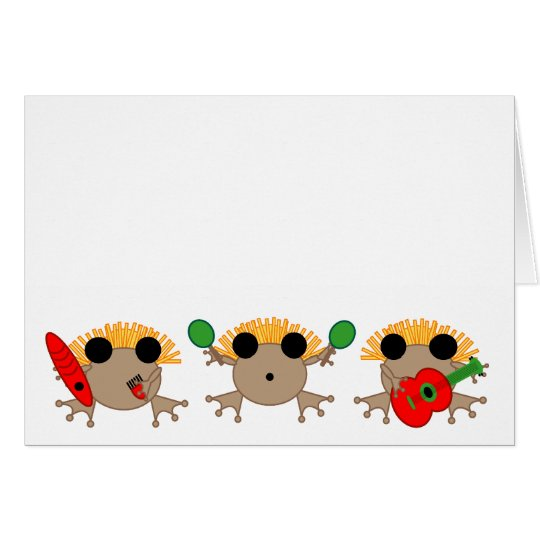 Coqui Parranda CHRISTMAS CARD in English