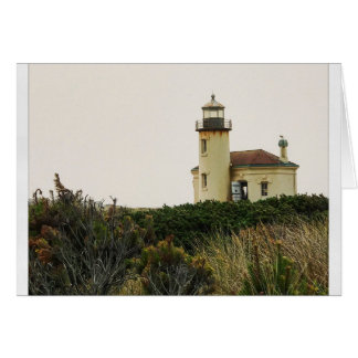 Coquille River Lighthouse Card