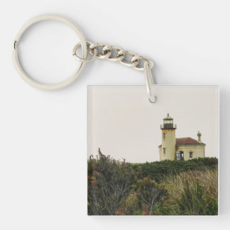 Coquille River Lighthouse Keychain