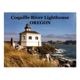 Coquille River Lighthouse, Oregon Postcard