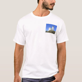 Coquille River Lighthouse T shirt #1