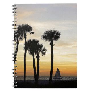 Coquina Seascape Spiral Notebooks