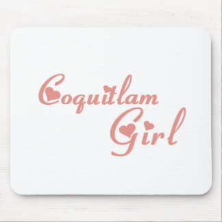 Coquitlam Girl Mouse Pad