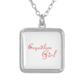 Coquitlam Girl Silver Plated Necklace