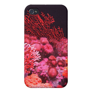 Corail rouge coque iPhone 4/4S