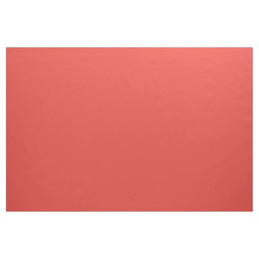 CORAL (a solid rich reddish-pink colour) ~ Fabric