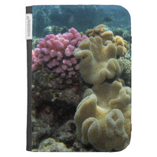 Coral Agincourt Reef Great Barrier Reef Kindle Folio Cases