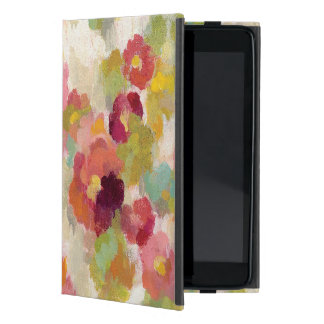 Coral and Emerald Garden Cover For iPad Mini