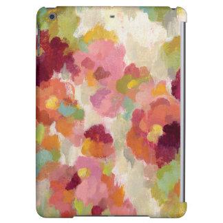 Coral and Emerald Garden iPad Air Case