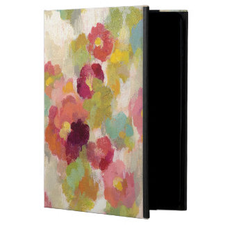 Coral and Emerald Garden iPad Air Cases