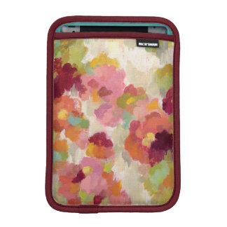 Coral and Emerald Garden iPad Mini Sleeve