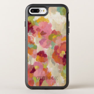 Coral and Emerald Garden OtterBox Symmetry iPhone 7 Plus Case