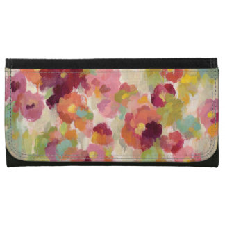 Coral and Emerald Garden Wallets