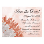 Coral and White Reef Ocean Save the Date