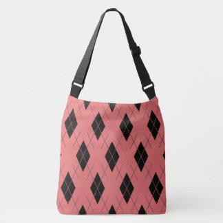 Coral--Argyle-Totes_Bag''s_Multi-Style's Crossbody Bag