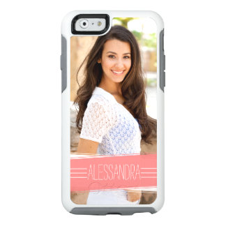 Coral Banner Custom Photo Personalized OtterBox iPhone 6/6s Case