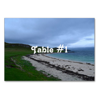 Coral Beach in Scotland Card