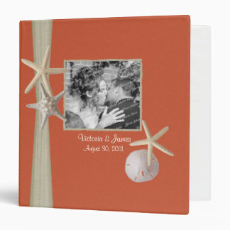 Coral Beach Starfish and Photos Binder