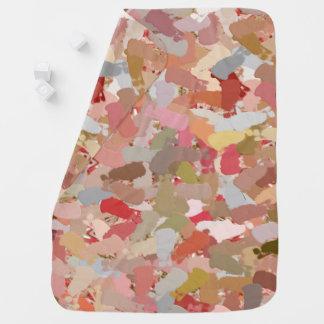 Coral Beads Paint Splatter 5050 baby blanket