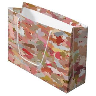 Coral Beads Paint Splatter 5050 gift bag