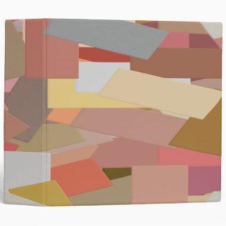 Coral Blocks 5050 3 ring binder