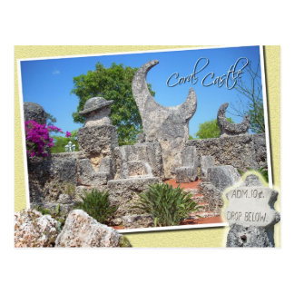 Coral Castle, Homestead, Florida Postcard