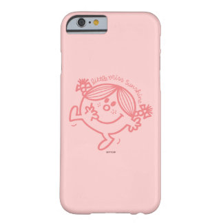 Coral Colored Little Miss Sunshine Barely There iPhone 6 Case