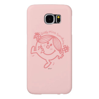Coral Colored Little Miss Sunshine Samsung Galaxy S6 Cases