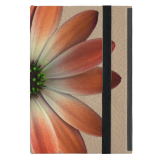 Coral Daisy on Shell background iPad Mini Case