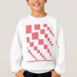 Coral Descending Diamonds Sweatshirt