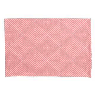 Coral Diamonds Pillowcase