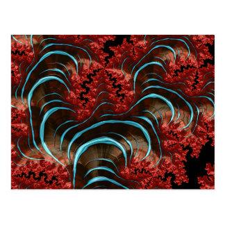 Coral Eruption Postcard Design