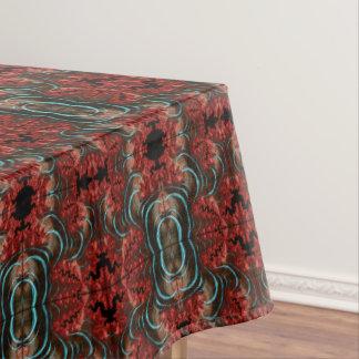 Coral Eruption Tablecloth Dining Room Design
