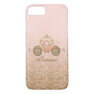 Coral Fairytale Princess iPhone 7 Case