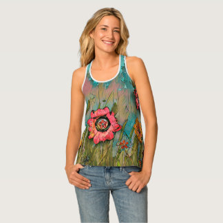 Coral Fields- Woman's tank top
