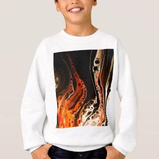 Coral Flame Sweatshirt