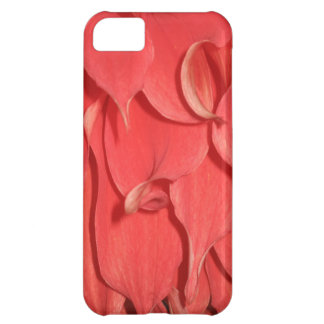 Coral Flower Petals iPhone 5C Cases