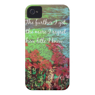 Coral ,Flowers and good message. iPhone 4 Covers