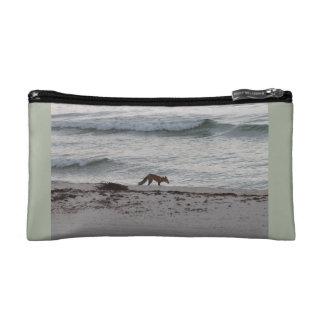 Coral Fox Make Up Bag