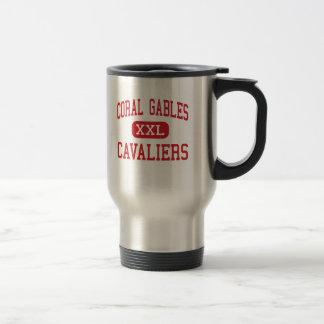 Coral Gables - Cavaliers - High - Coral Gables Travel Mug